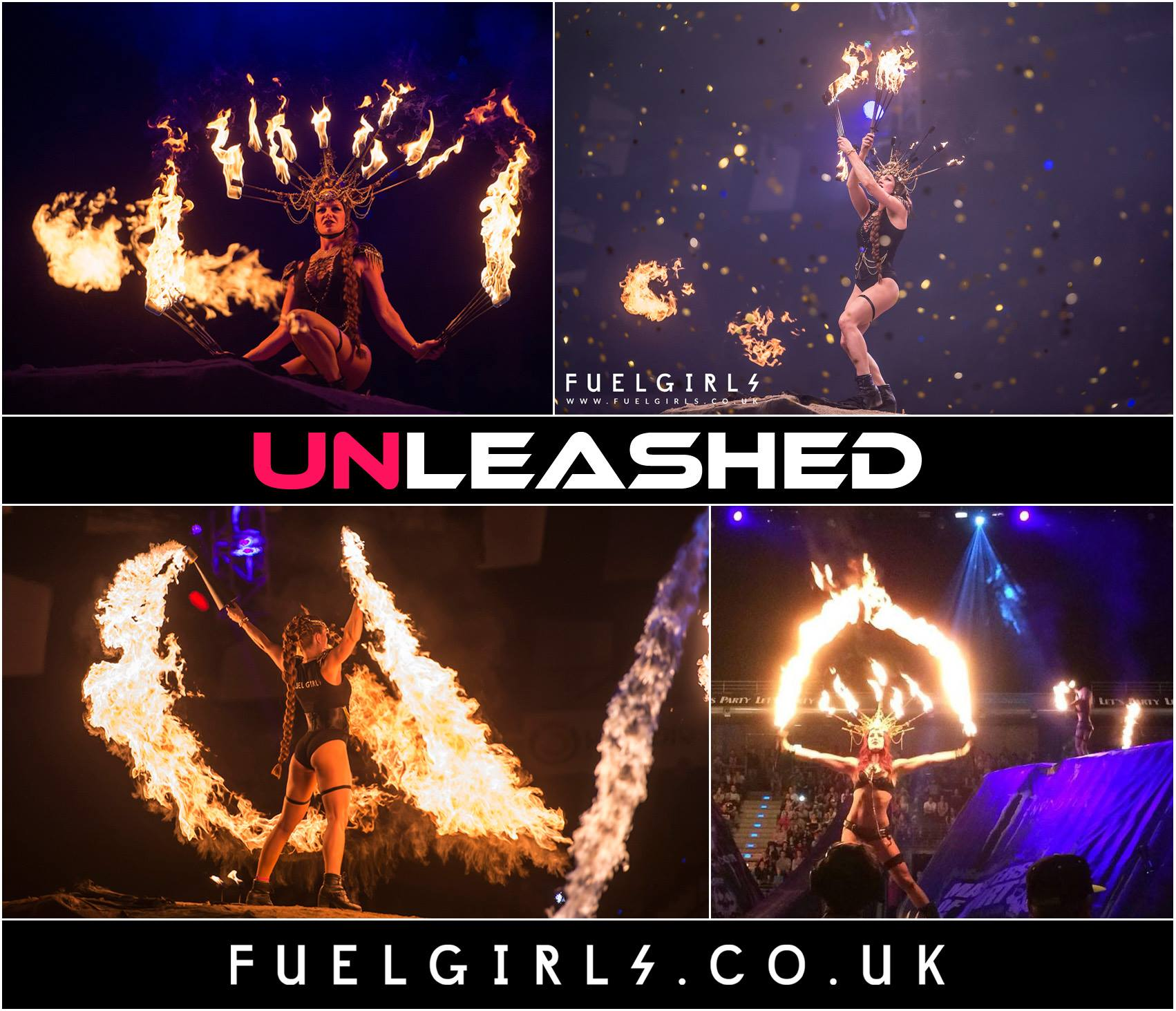 The Fuel Girls spectacular performance at UNLEASHED 5 Years Anniversary